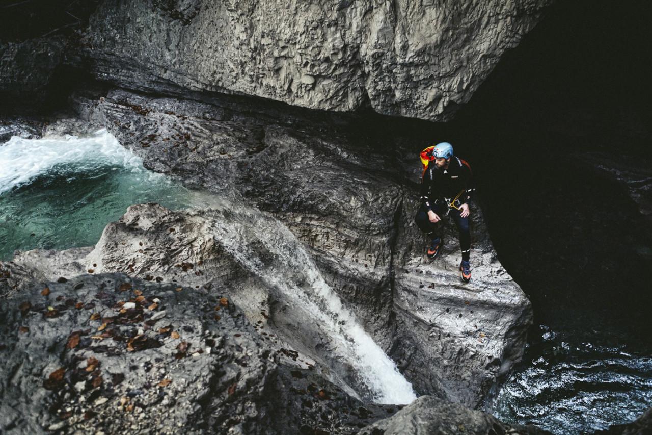 CEDRIC SCHANZE Canyoning
